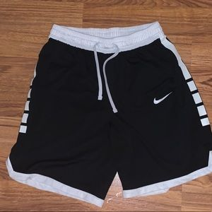 Nike elite black shorts